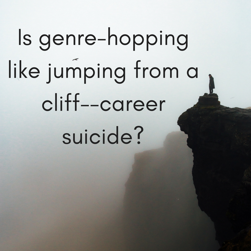 Is genre-hopping like jumping from a cliff--career suicide_