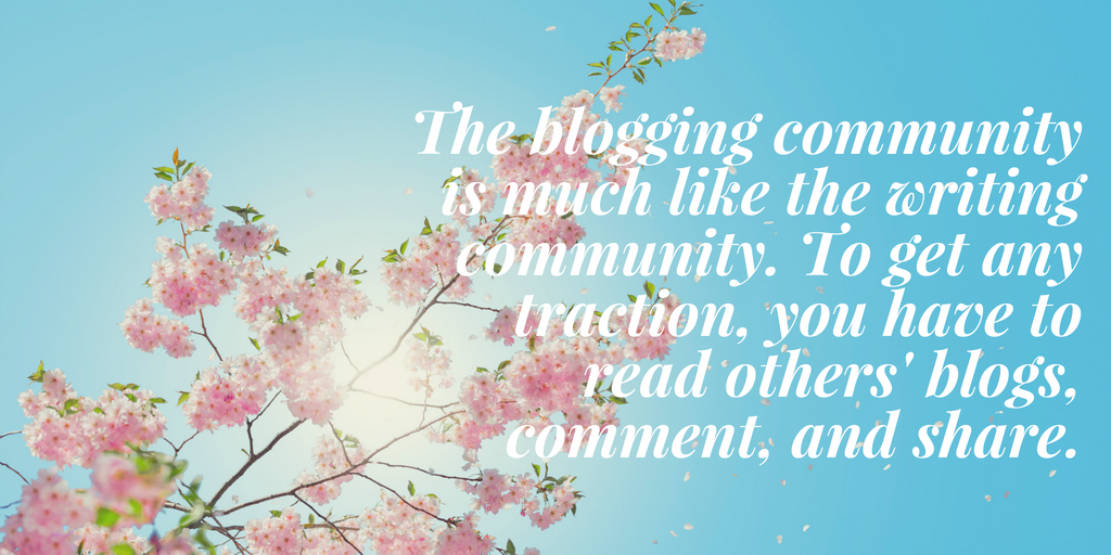 What people don't tell you about blogging. (4)