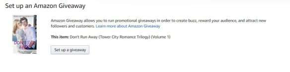 amazon giveaway blog