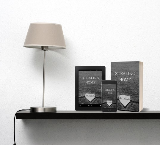 shelf with lampstealinghome