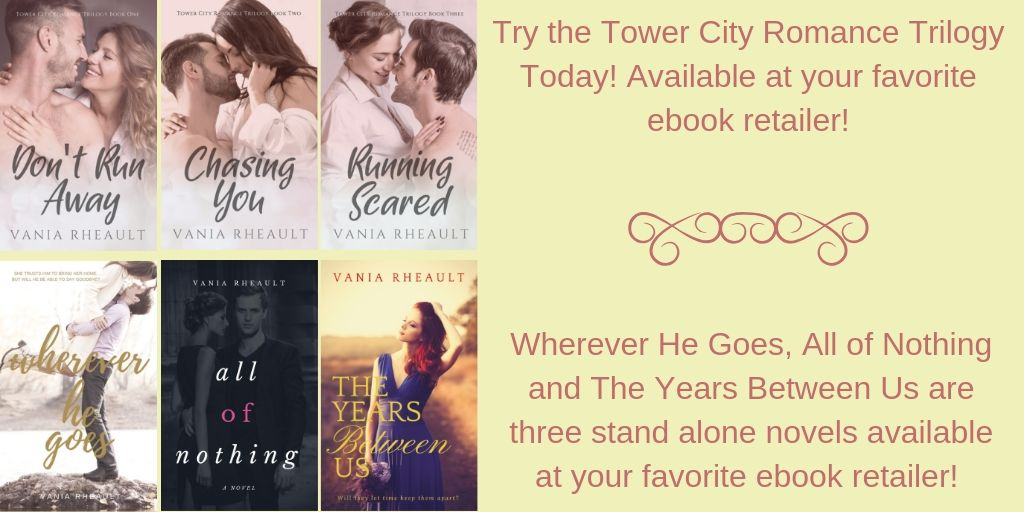 Try the Tower City Romance Trilogy Today!