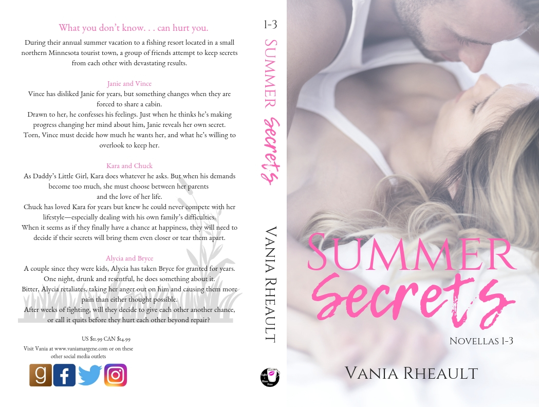 Summer Secrets Novellas 1-3 New Cover
