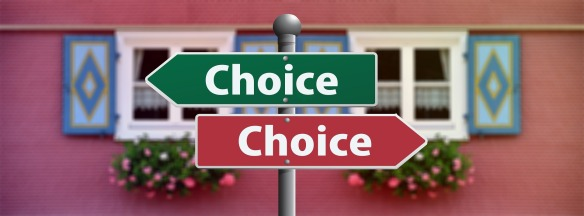 choice street signs