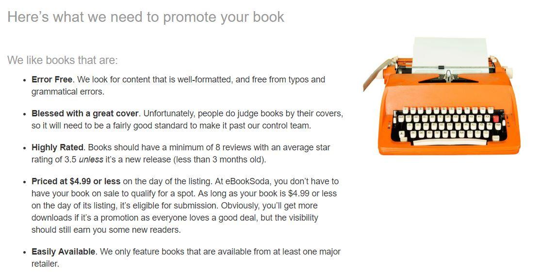 ebook soda promo site