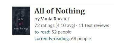 goodreads stats