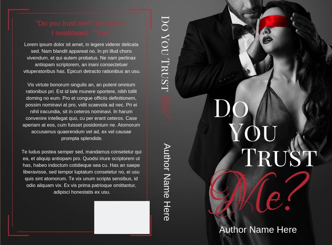 Do you trust me fake cover