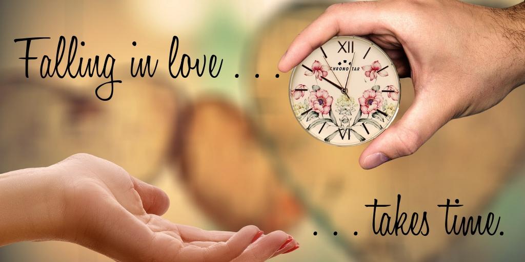 Falling in love . . .