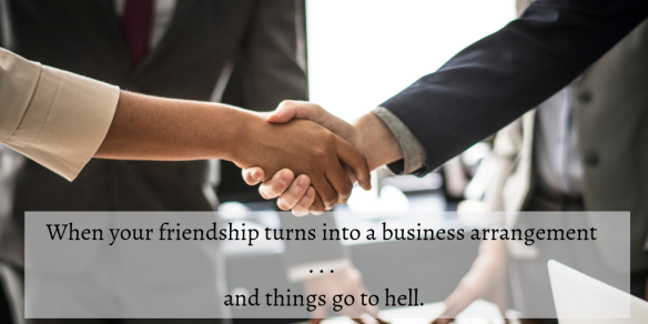 friends to business parnters blog post
