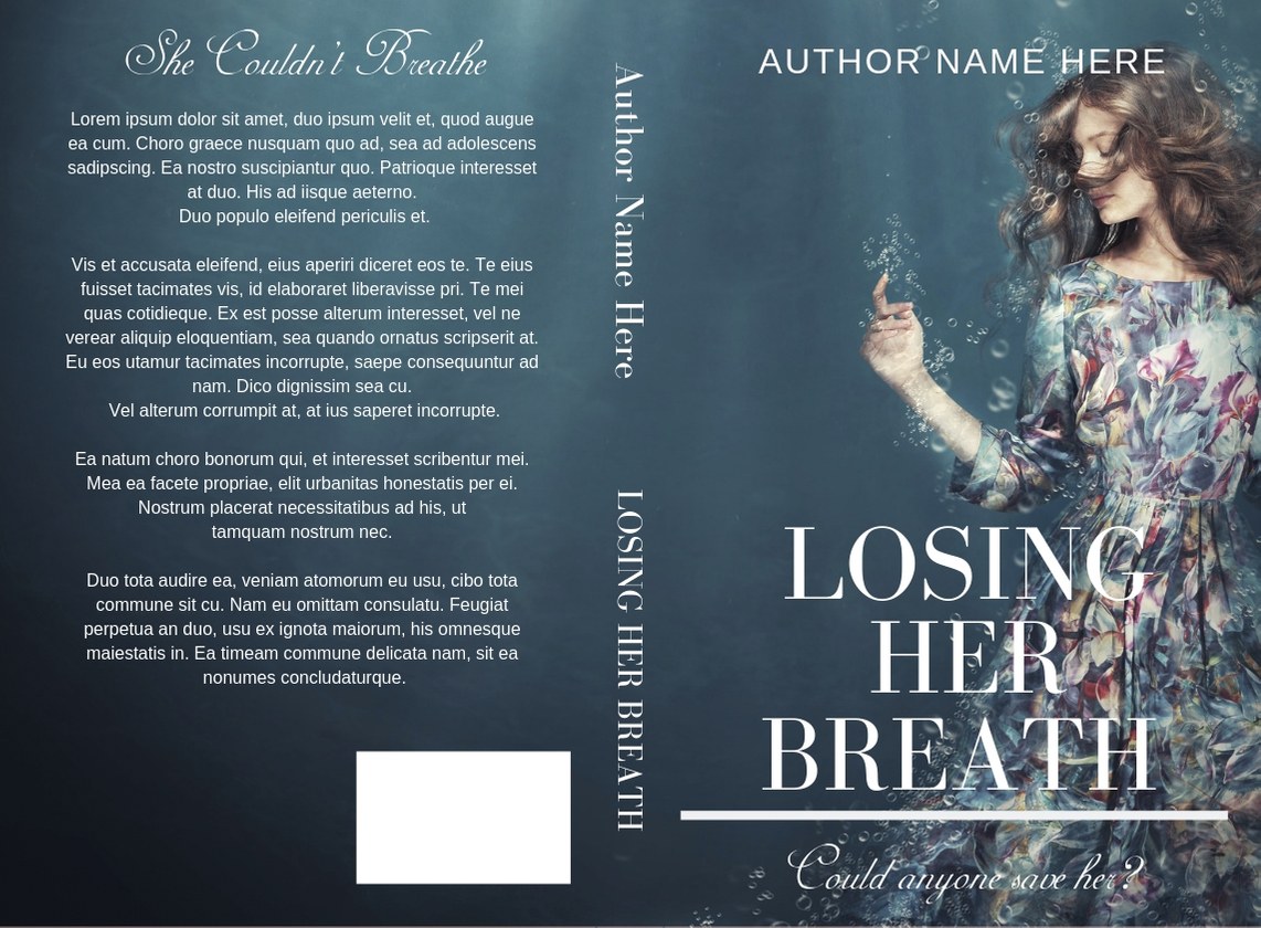 losing her breath fake cover