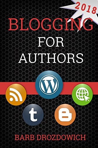blogging for authors book cover