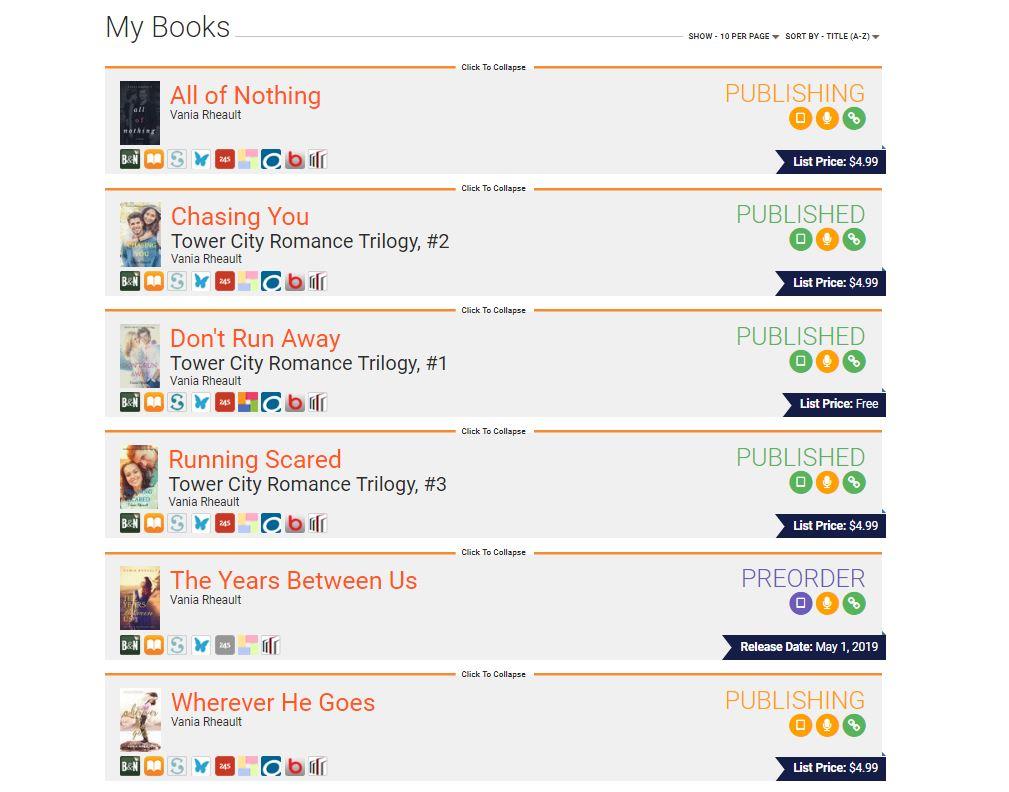 books on draft to digital