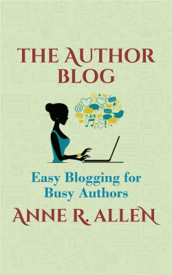 the author blog book cover