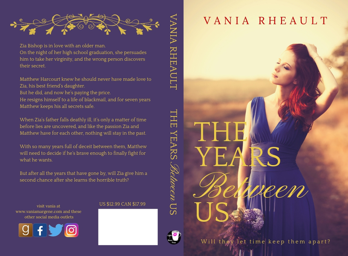 The Years Between Us Paperback Cover