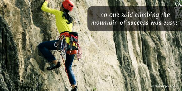 mountain of success