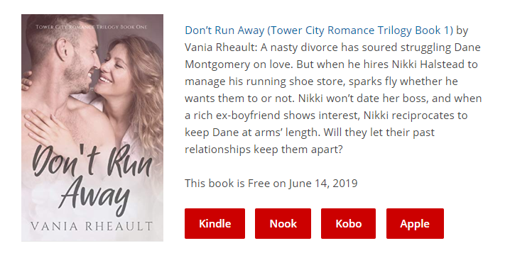 don't run away freebooksy promo june 14