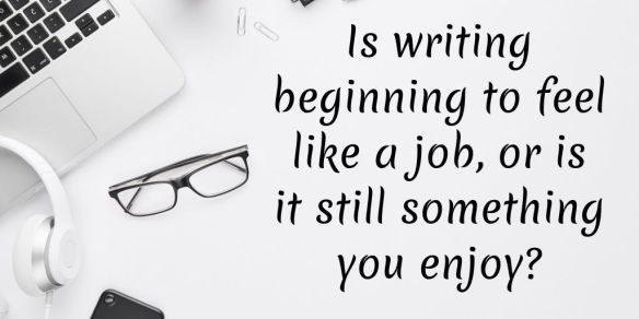is writing a job