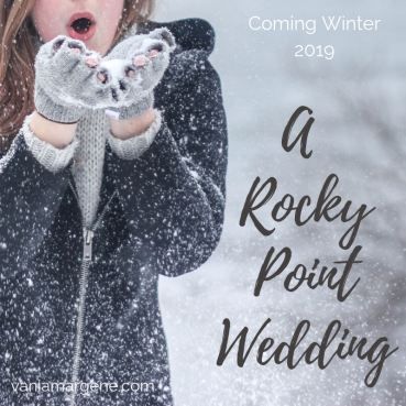 a rocky point wedding social media graphic