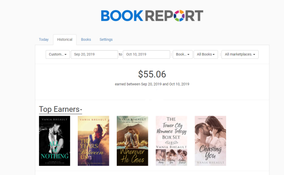 book report for ad challenge for blog