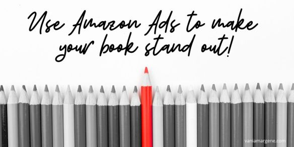 Use Amazon Ads to make your book stand out!